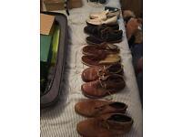 Selection of Men's designer shoes