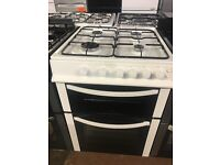 60CM WHITE LOGIK GAS COOKER