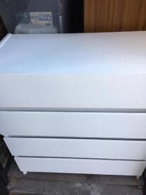 4 drawers chest still 4 sale
