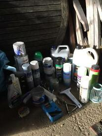 Emigration clear out: car equipment products cleaning anti freeze