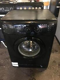 Black washing machine 7kg next