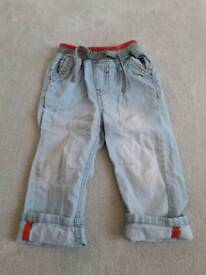 9-12 month trousers jeans