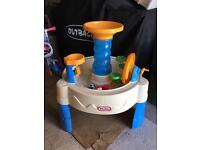 Little tikes water tray like new