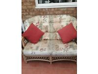 CONSERVATORY SOFA, CHAIR & TABLE