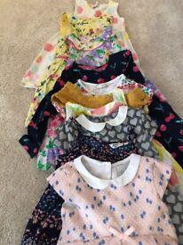 Girls dresses (bundle of 10) ages 3-4