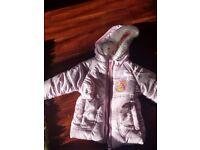 Disney's baby girls coat