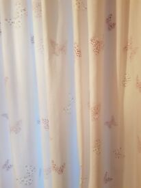 Handmade curtains - Bella Butterfly (Laura Ashley fabric)