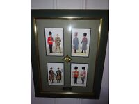 Irish Guards Montage Print In Good Condition