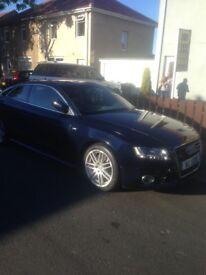 10 plate Audi A5 sline