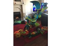 Smoby trike and toys