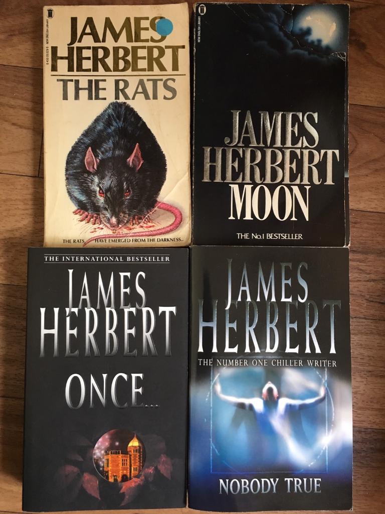 James Herbert book bundle