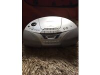 Sony CD Radio Cassette Recorder CFD-S250L