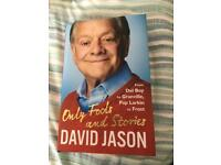 David Jason only fools and other stories hardback book