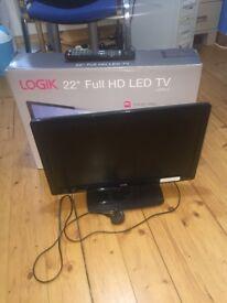 """22"""" TV - LOGIK LED"""