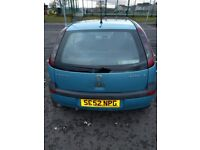 Vauxhall Corsa 1.2 for spares or repairs