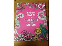 Coloring book for mums, new condition
