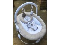 Silver Cloud Counting Sheep Baby Bouncer for sale!
