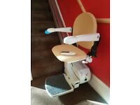 Handicare Simplicity 950 series Stairlift - Perfect condition, hardly used