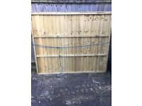 5' Close Board Fence Panel