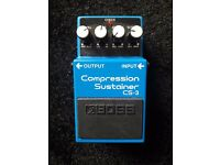 Boss Compression/Sustainer Pedal