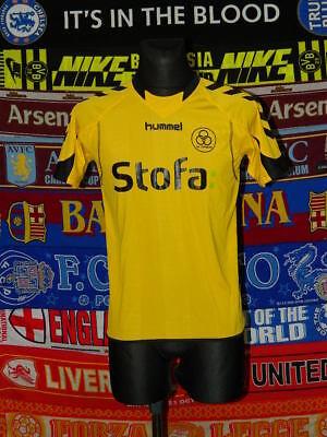 4.5/5 AC Horsens Adultos S Yl 2011 Hogar Raro Camiseta de Fútbol Camiseta Fútbol image