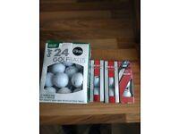 Golf balls .