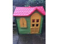 Little Tikes Country Cottage plastic playhouse
