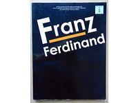 FRANZ FERDINAND GUITAR TAB BOOK (Voice & Guitar- Std notation & Guitar tabs, lyrics & chord symbols)