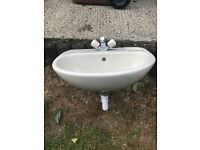 Ideal standard toilet and basin