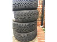 Michelin winter tyres in excellent condition