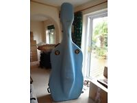Double bass case for international travel