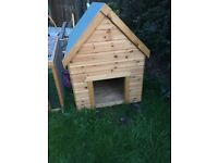 Dog kennel and detachable run for sale