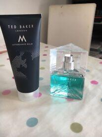 New Ted Baker M Eau de Toilette and Aftershave Balm Set