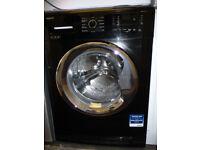 Beko Washing Machine - Shiny Black - Refurbished