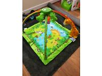 Fisher price rainforest mat