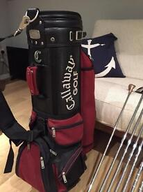 Wilson Golf Clubs, Callaway Golf bag, Taylor Made and Ben Sayers Drivers