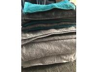 Used bath towels, mats and flannels - free