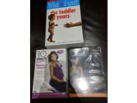 Pregnancy yoga and Pilates dvd plus toddler book