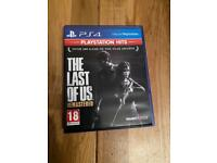 The Last of Us Remasteted PS4 Game