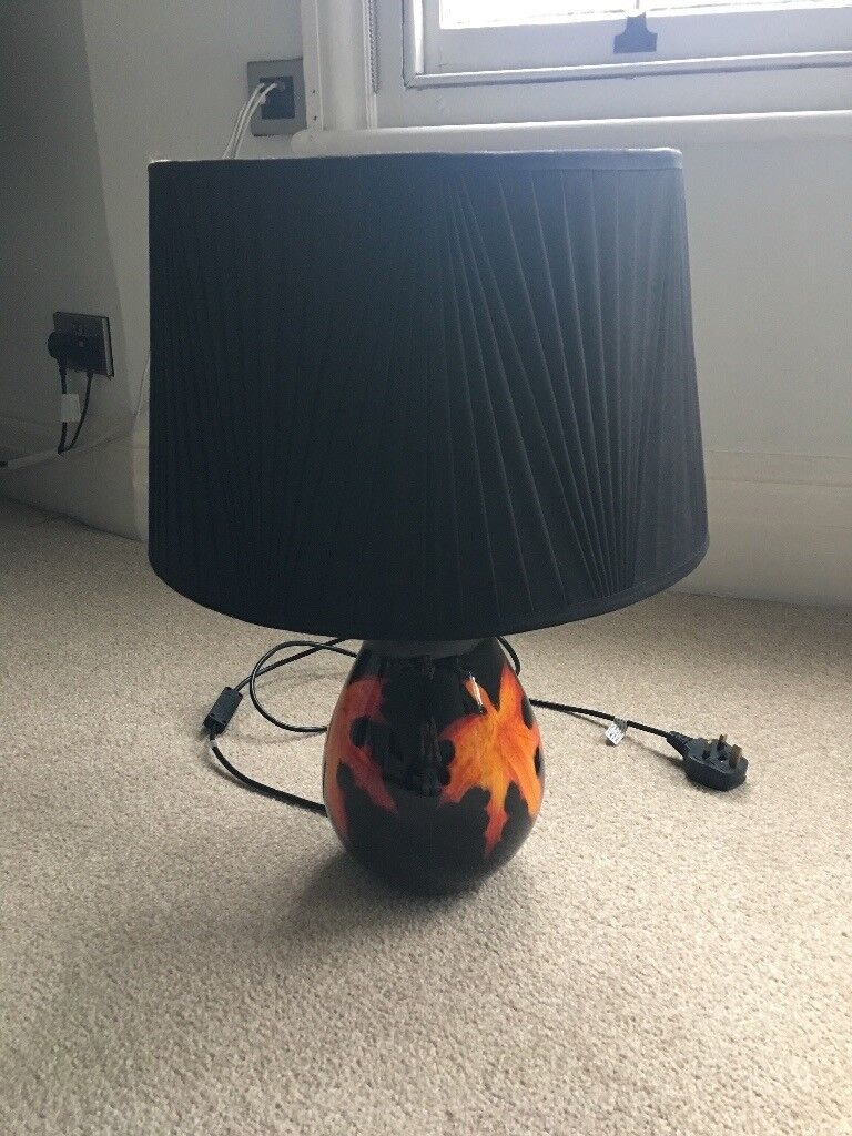 Original poole pottery table lamp in earls court london gumtree original poole pottery table lamp mozeypictures Images