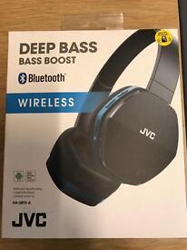 JVC Deep Bass Headphones