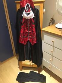Halloween Outfit - Vampire Fancy Dress