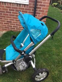 Quinny Buzz pram suitable from newborn baby to 3 years.
