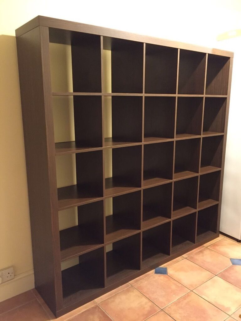 Ikea kallax 5x5 units shelving bookcase room divider in brislington bristol gumtree - Bookshelves as room divider ...