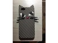 Genuine Lulu Guinness iPhone 6 Cat Case