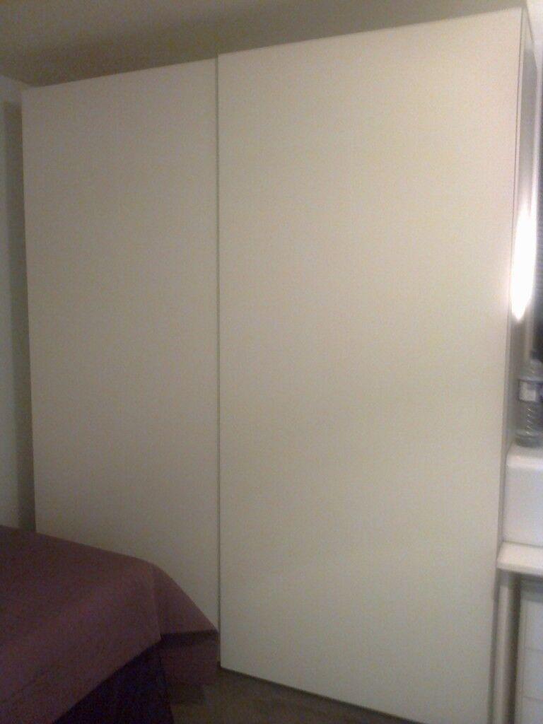 PAX WARDROBE WITH SLIDING DOORS £250
