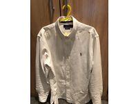 Ralph lauren oxford white shirt - size medium
