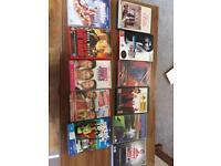Range of dvds