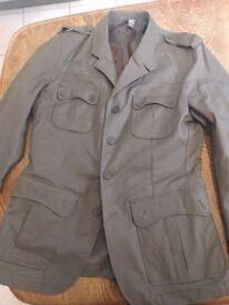 H&M military style jacket, unworn, smal/med £10