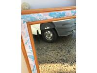 Modern finish mirror FREE DELIVERY PLYMOUTH AREA